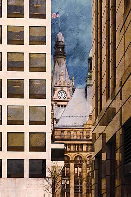 Digital Art - Milwaukee City Hall by David Blank