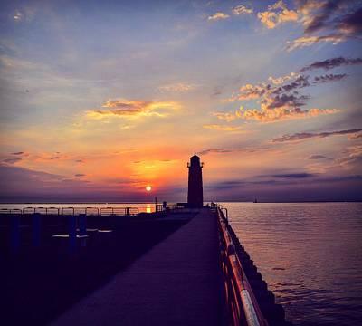 Photograph - Milwaukee Lighthouse by Nikki McInnes
