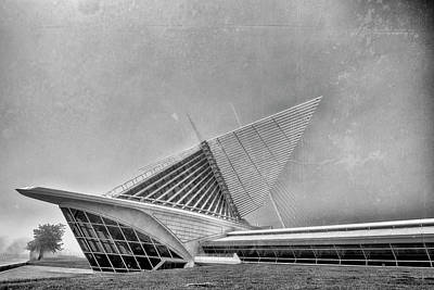 Photograph - Milwaukee Museum Of Art Special 2 by David Haskett II