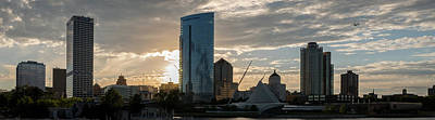 Photograph - Milwaukee New Skyline by James Meyer