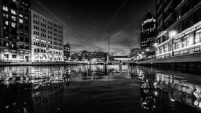Photograph - Milwaukee Noir by Randy Scherkenbach