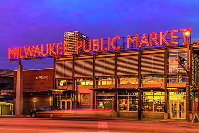 Photograph - Milwaukee Public Market by Chuck De La Rosa