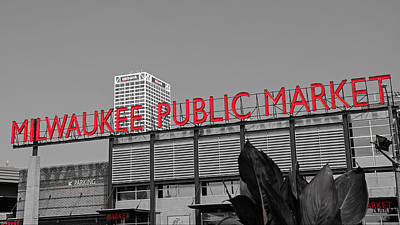 Photograph - Milwaukee Public Market by Susan  McMenamin
