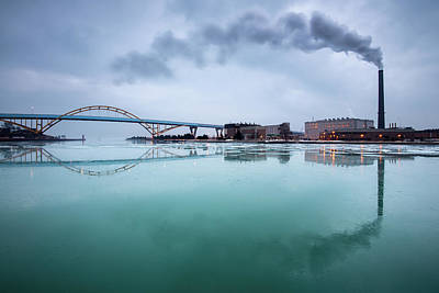 Photograph - Milwaukee Reflected by Josh Eral
