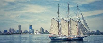 Photograph - Milwaukee Schooner by Nikki McInnes