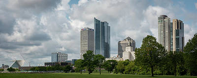Photograph - Milwaukee Skyline From Veterans Park 2 by James Meyer