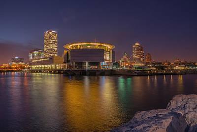 Photograph - Milwaukee Skyline by James Meyer