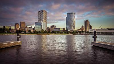 Photograph - Milwaukee Skyline by Josh Eral