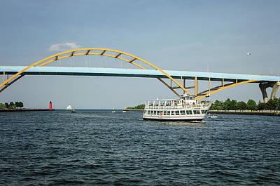 Photograph - Milwaukee Waterways by Susan McMenamin