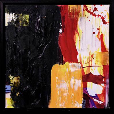 Joan Raspo Wall Art - Painting - Mimetic 01 by Joan Raspo