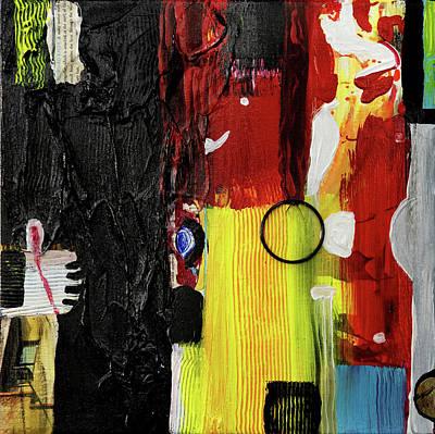 Joan Raspo Wall Art - Painting - Mimetic 02 by Joan Raspo