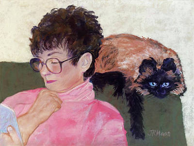 Painting - Mimi And Me by Julie Maas