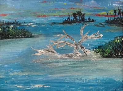 Painting - Mimi's Mangroves No. 395 by MiMi Stirn