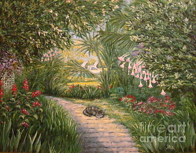 Painting - Mimi's Path by Leea Baltes