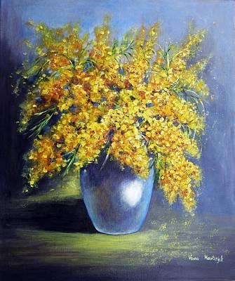 Painting - Mimosa by Vesna Martinjak