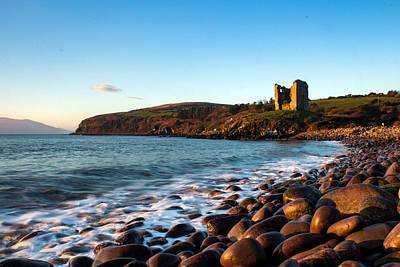 Photograph - Minard Castle And Beach Dingle by Noel O Neill