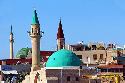 Photograph - Minaretes by Munir Alawi
