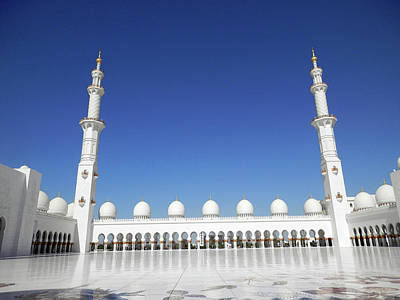 Photograph - Minarets by Pema Hou