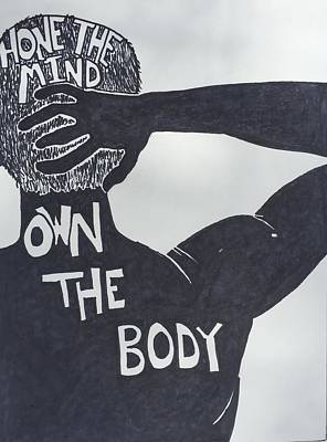 Drawing - Mind/body by Sara Young