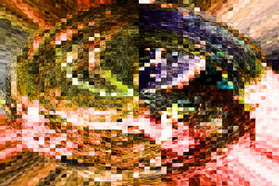 Abstract Digital Photograph - Mind Curl by Jeff Swan