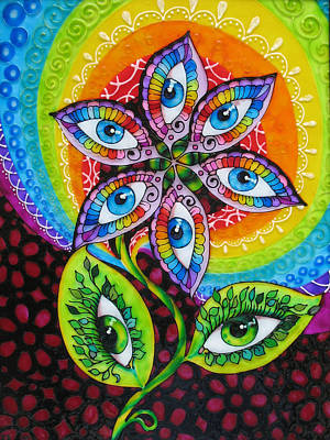 Mind Eyes Art Print by Gabriela Stavar