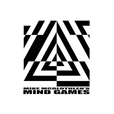 Optical Illusion Drawing - Mind Games  21se by Mike McGlothlen