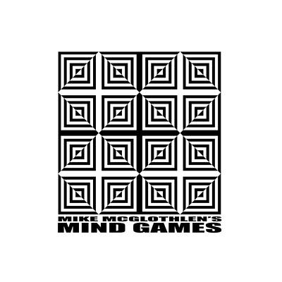 Optical Illusion Drawing - Mind Games 28se by Mike McGlothlen