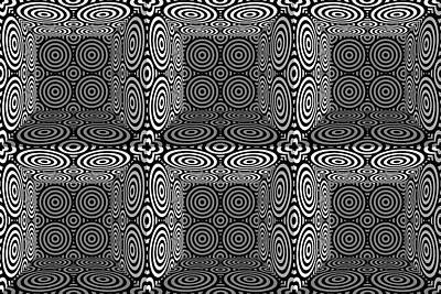 Optical Illusion Digital Art - Mind Games 3d 3b 2 by Mike McGlothlen