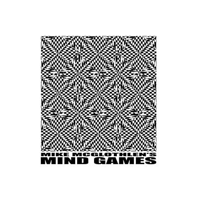 Optical Illusion Drawing - Mind Games 61se 2 by Mike McGlothlen