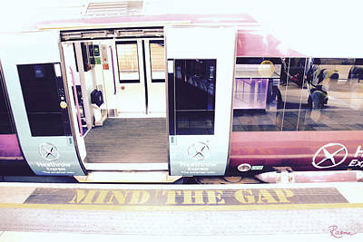 Photograph - Mind The Gap by Rasma Bertz