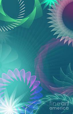 Digital Art - Mind Trips - Cool Wave by Peter Awax