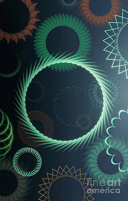Digital Art - Mind Trips - Dark Triphop by Peter Awax