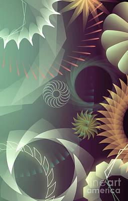Digital Art - Mind Trips - Grey Day by Peter Awax