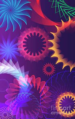 Digital Art - Mind Trips - Hipster Motion by Peter Awax