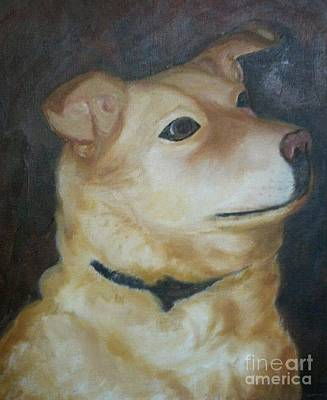 Acryllic Painting - Mindy by Dorothy Weichenthal