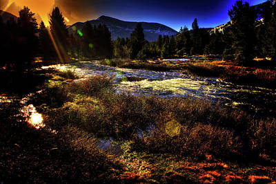 Photograph - Mine Creek Between Lakes Ellery And Tioga by Roger Passman