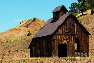 Photograph - Mine Ruins Of Cripple Creek Colorado by Steve Krull