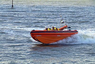 Photograph - Minehead Lifeboat by Tony Murtagh