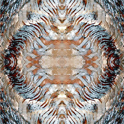 Mineral Abstract Art Print by Susan Lafleur