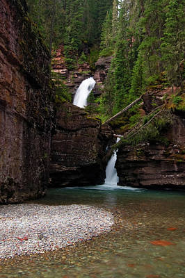 Photograph - Mineral Creek Falls by Steve Stuller