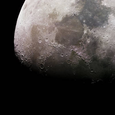 Mineral Moonscape Print by Manuel Huss