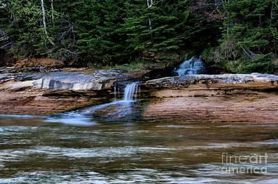 Photograph - Miner's Beach Falls by Matthew Winn