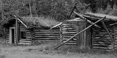 Photograph - Miners Cabins by Inge Riis McDonald