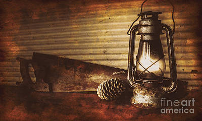 Shed Photograph - Miners Cottage Details by Jorgo Photography - Wall Art Gallery