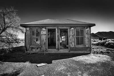 Gold Mining Photograph - Miner's House by Peter Tellone