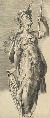 Relief - Minerva by Bartholomeus Spranger