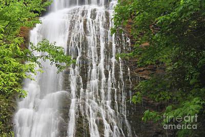 Photograph - Mingo Falls Closeup by Jill Lang