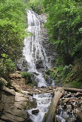 Photograph - Mingo Falls In North Carolina by Jill Lang