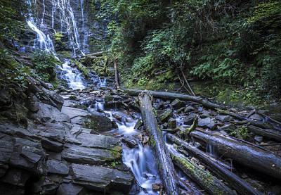 Photograph - Mingo Falls One by Van Sutherland