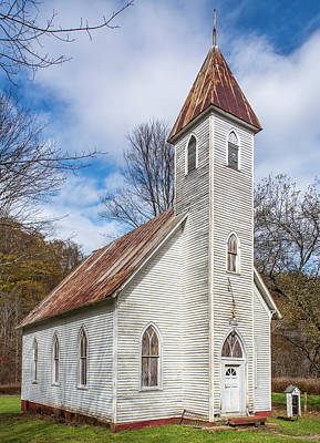 Photograph - Mingo Methodist Church by Andy Crawford